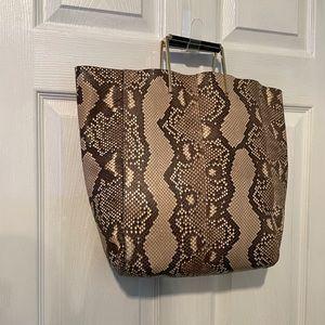 Jason Wu $2,195 Suvi Genuine Python Tote purse Bag